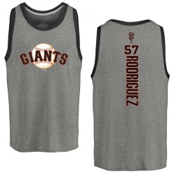 Youth Dereck Rodriguez San Francisco Giants Backer Tri-Blend Tank - Heathered Gray